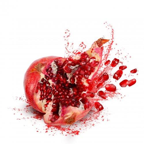 Exploding pomegranate