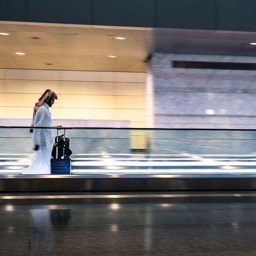 In Airport, Doha, Qatar