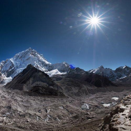 Khumbu Icefall, Himalayas, Nepal