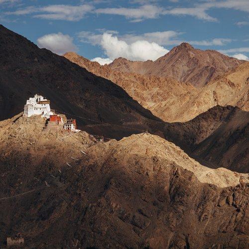 Namgyal Tsemo Monastery, Leh, Indian Himalaya
