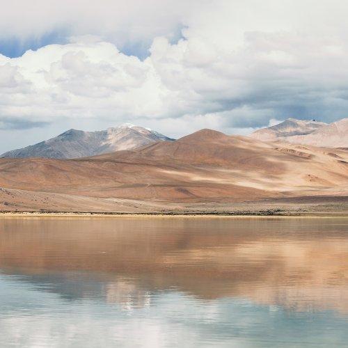 Tsomorari Lake, Ladakh, India