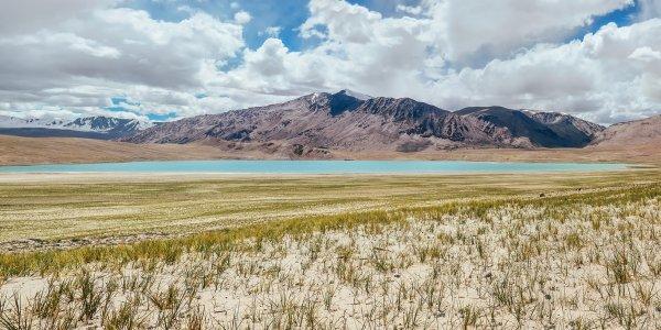 Tso Moriri lake, Ladakh, Northern India.
